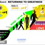 RETURNING (ROAD BACK) TO GREATNESS